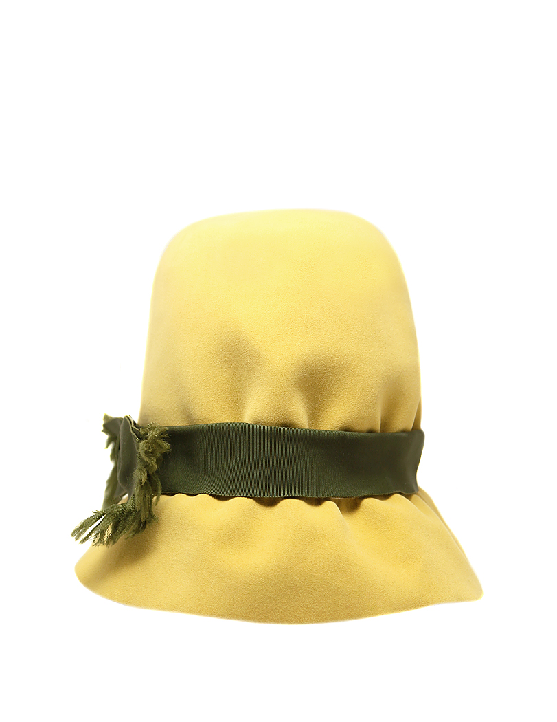 Christian Dior Felt Hat With A Bow - Vintage Voyage store c7279ed41abf