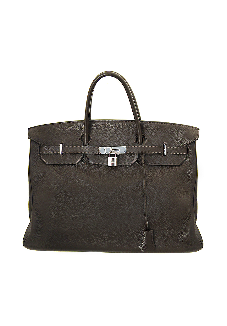 9a119e5983 ... shop hermès birkin 40 clemence leather bag. u2039 u203a u2039 u203a  a56a6 64437