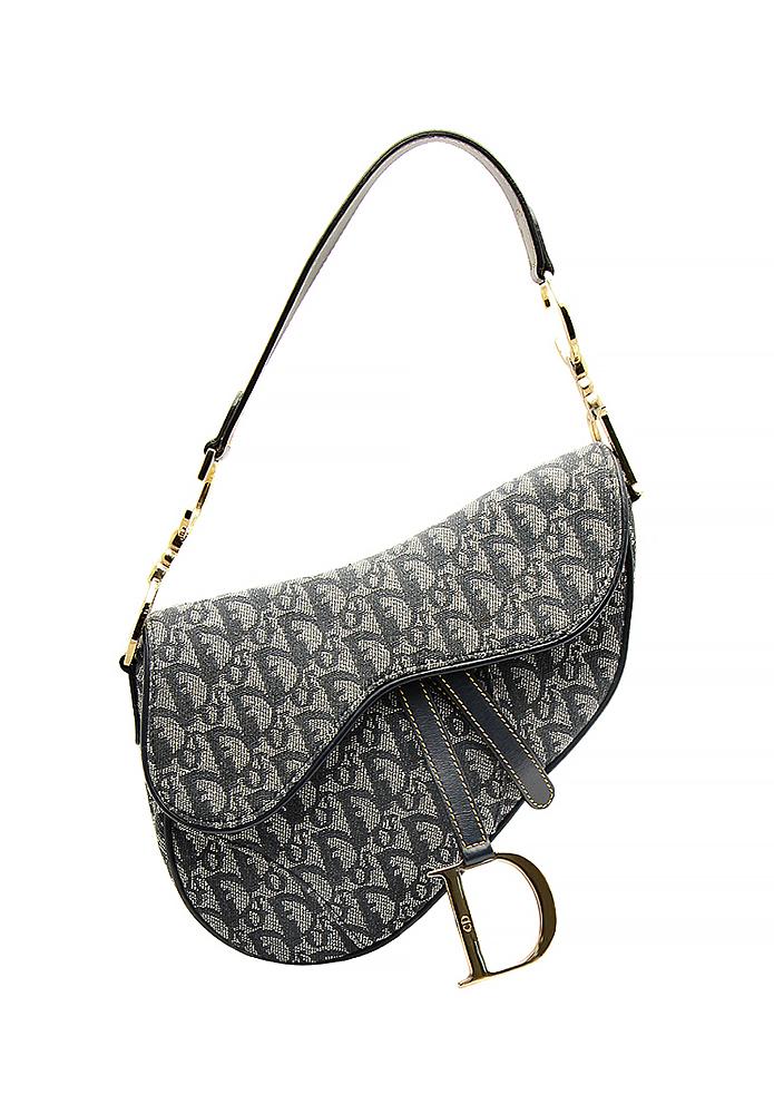 2d6230e8c392 Christian Dior Saddle Bag - Vintage Voyage store