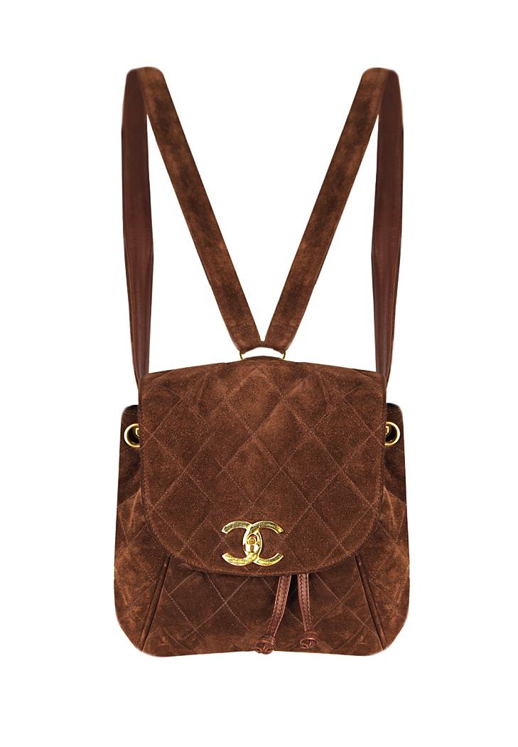 afa58705b8c59f Chanel Velvet Backpack - Vintage Voyage store