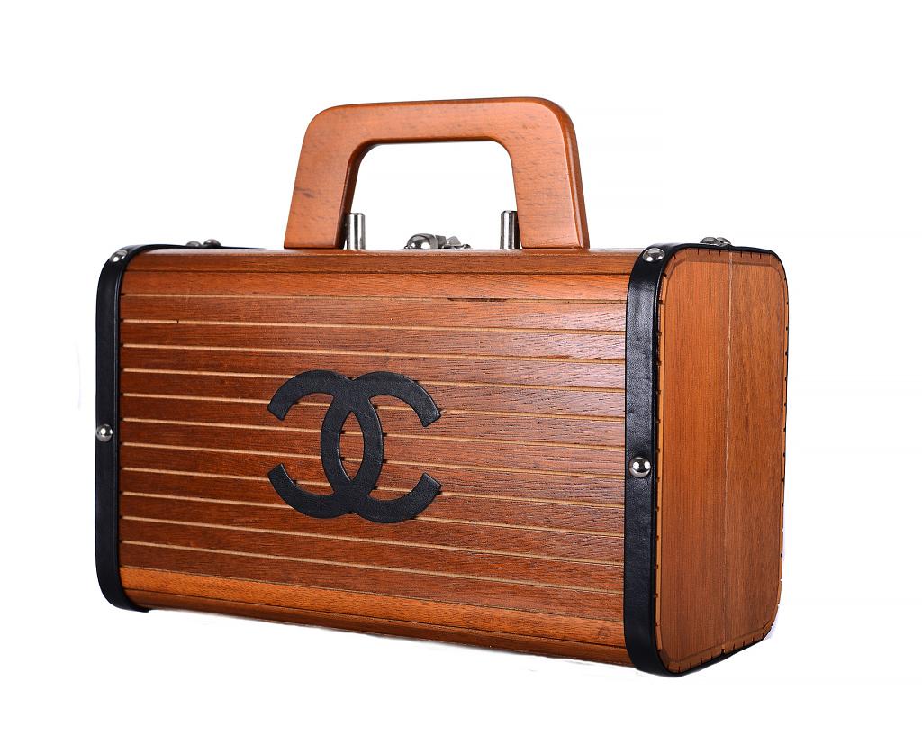 Chanel Wooden Handbag