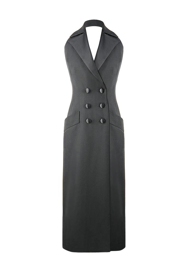 a765af025a48 Yves Saint Laurent Le Smoking Dress - Vintage Voyage store