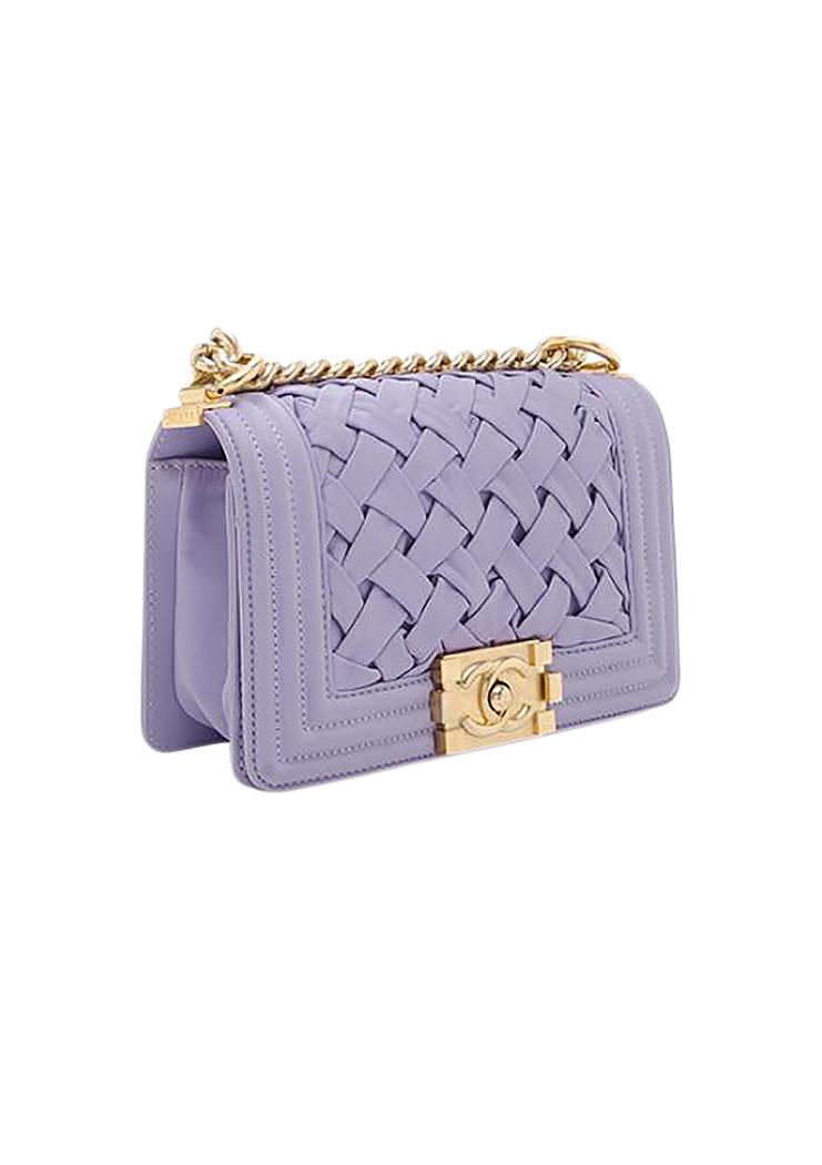 af1206c79afd Chanel Chateau Boy Lavender Bag - Vintage Voyage store