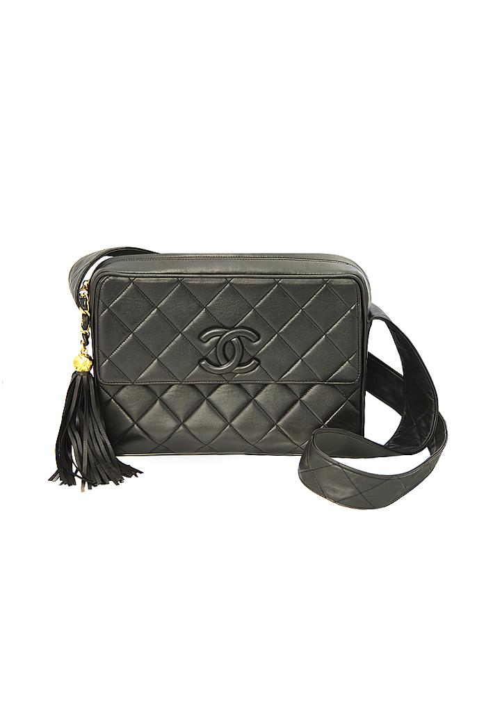8b9fbab700fde3 Chanel Deep Brown Bag - Vintage Voyage store