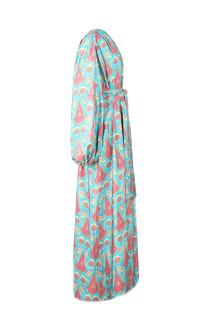 0fa1bcdd94 Yves Saint Laurent Maxi Dress - Vintage Voyage store