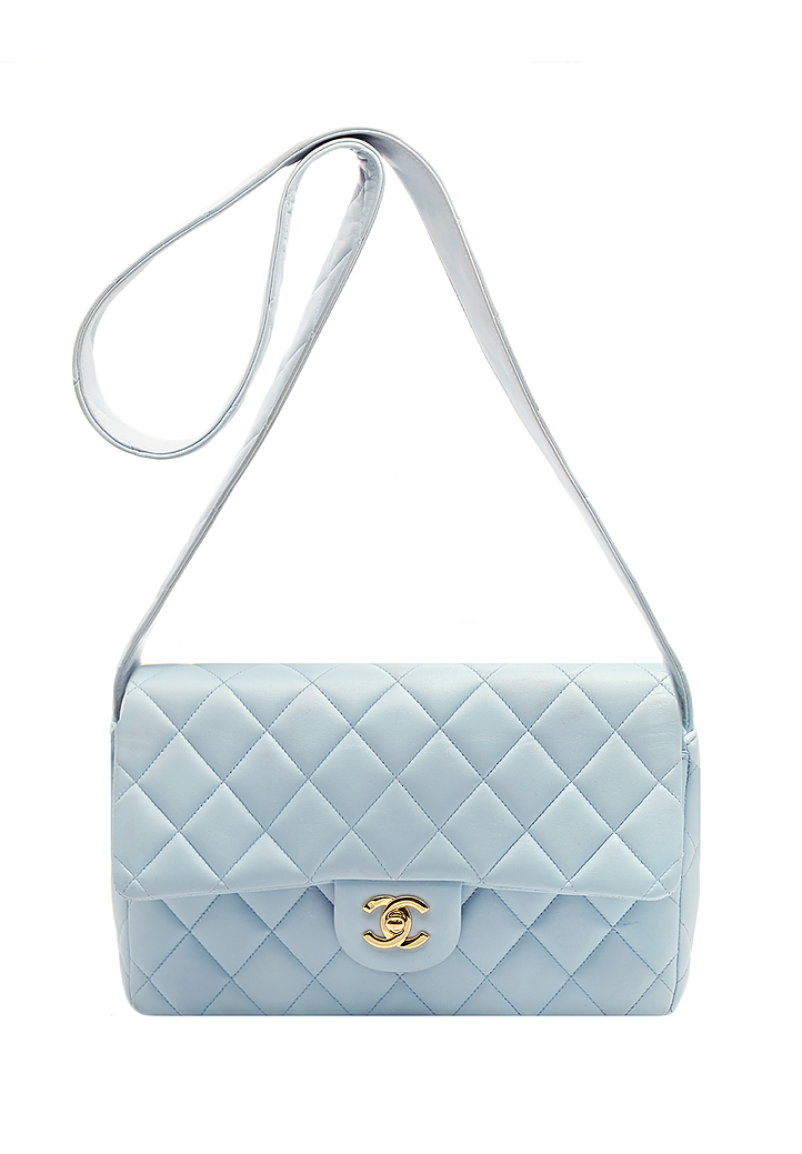 Chanel Baby Blue Bag - Vintage Voyage store 4a36b2681