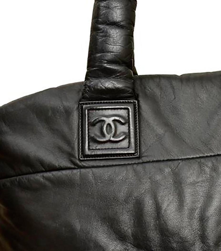 6d1fc3bc2c80 Chanel Cocoon Leather Bag - Vintage Voyage store