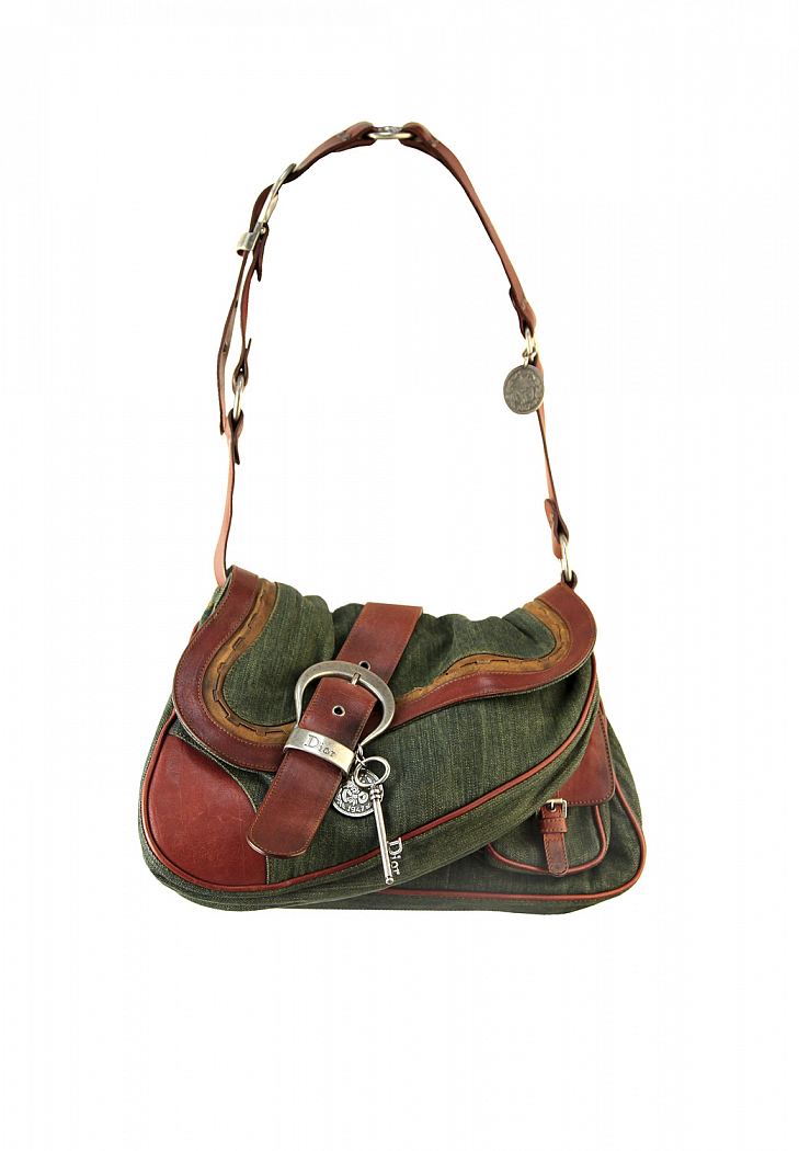 a5c99fb0a8a Christian Dior Gaucho Double Saddle Bag - Vintage Voyage store